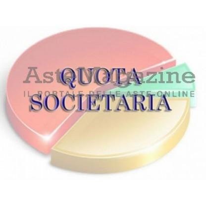 Quota di partecipazione pari al 20% del capitale sociale della Società CBS S.r.l. in liquidazione
