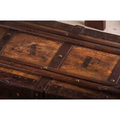 Bauletto in legno XIX secolo